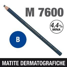 MATITA DERMATOGRAFICA 7600 BLU - conf. 12