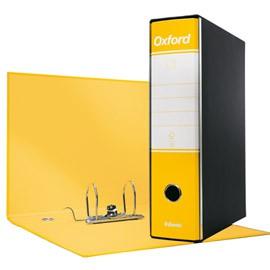 Registratore OXFORD G85 giallo dorso 8cm f.to protocollo ESSELTE - conf. 6
