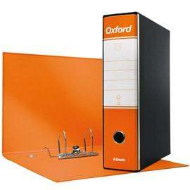 Registratore OXFORD G85 arancio dorso 8cm f.to protocollo ESSELTE - conf. 6