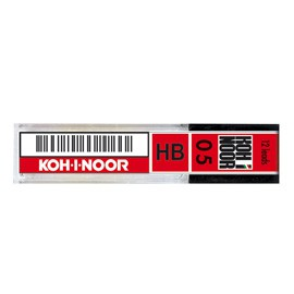 ASTUCCIO 12 MICROMINE 0,5mm HB E205 KOHINOOR - conf. 12