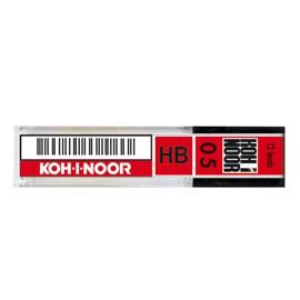 ASTUCCIO 12 MICROMINE 0,5mm 2B E205 KOHINOOR - conf. 12