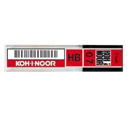 ASTUCCIO 12 MICROMINE 0,7mm B E207 KOHINOOR - conf. 12