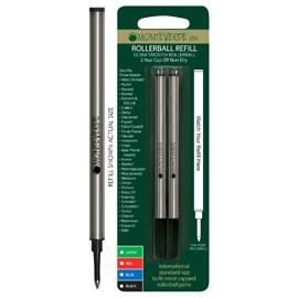Blister 2 refill in metallo per ROLLER NERO PUNTA FINE - conf. 1