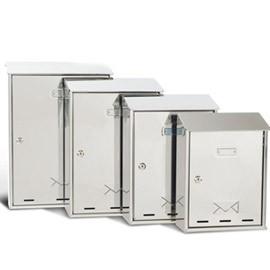 CASSETTA POSTALE 30x40x15cm INOX SERIE ELIOS - conf. 1