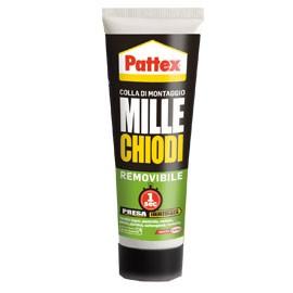 ADESIVO PATTEX MILLECHIODI REMOVIBILE 100GR - conf. 1