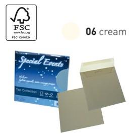 BLISTER 5buste+5biglietti f.to 17x17cm CREMA 06 SPECIAL EVENTS - conf. 1