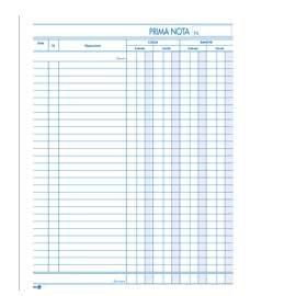 BLOCCO PRIMA NOTA CASSA 22x28cm 50fgx 2copie ric. BM - conf. 1