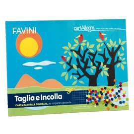 ALBUM TAGLIAeINCOLLA 24X33CM 10fg 90gr FSC FAVINI - conf. 10