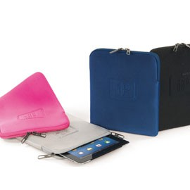CUSTODIA SLEEVE ELEMENTS BLU per iPAD TUCANO - conf. 1