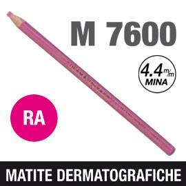 Matita dermotografica 7600 rosa UNI MITSUBISHI - conf. 12