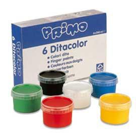 BOX 6 COLORI A DITA 250gr CMP - conf. 1