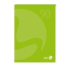 BLOCCO NOTES COLLATO lato corto A4 90gr 80fg bianco copertina 250gr BM - conf. 5