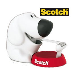 DISPENSER FIDO C31 + 1 ROTOLO SCOTCH MAGIC 810 19MMX7,5M - conf. 1