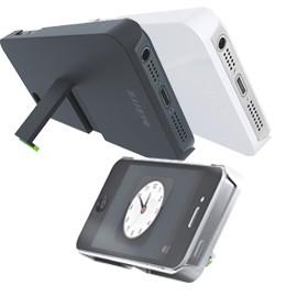 CUSTODIA CON BASE BIANCO x iPhone 5 Leitz Complete - conf. 1