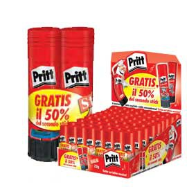 DISPLAY 36 COLLA PRITT STICK 22GR BIPACK - conf. 1