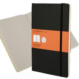 TACCUINO MOLESKINE LARGE 13x21cm 240pg righe copertina morbida c/elastico nera - conf. 1