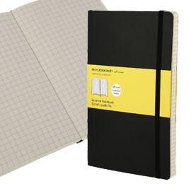 TACCUINO MOLESKINE LARGE 13x21cm 240pg 5mm copertina morbida c/elastico nera - conf. 1