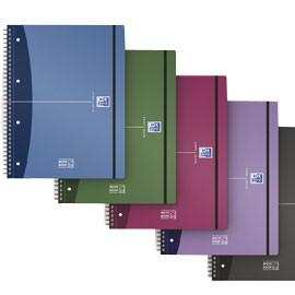 MAXI SPIRALATO PPL METAL 230x297 5mm 90g 80fg MOVEBOOK OXFORD - conf. 1