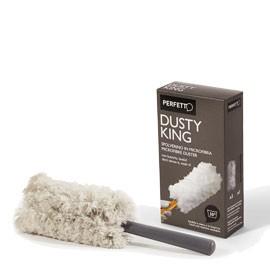 SPOLVERINO Microfibra + 3 RICAMBI Dusty King PERFETTO - conf. 1