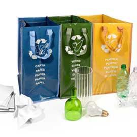 SET 3 CONTENITORI Ricicla Bag Perfetto - conf. 1