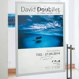 DURAFRAME Poster A2 42x59,4cm ARGENTO DURABLE - conf. 1