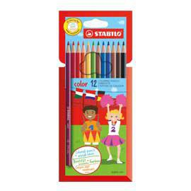 Astuccio 12 pastelli colorati STABILO COLOR - conf. 1