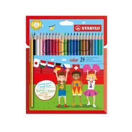 Astuccio 24 pastelli colorati STABILO COLOR - conf. 1