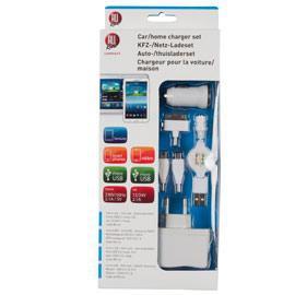 SET RICARICA DA CASA E AUTO + Micro/Mini USB ALL RIDE CONNECT - conf. 1