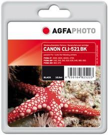 CARTUCCIA NERO PER C/CANON CLI 521BK PIXMA MP620 MP630 10,5ML - conf. 1