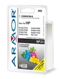 CARTUCCIA COLORI PER HP N22 PSC 1410, 1415, Deskjet F380, D1360 DOPPIA CAPACITA - conf. 1