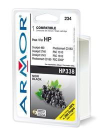 CARTUCCIA NERA PER HP N338 PSC 1510, 1610, Deskjet 5740 20ML - conf. 1