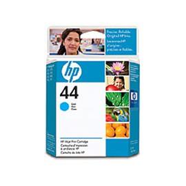 CARTUCCIA A GETTO D'INCHIOSTRO HP N.44 CIANO 42ML - conf. 1