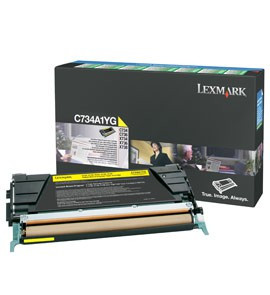 TONER GIALLO C734, C736, X734, X736, X738, RETURN PROGRAM - conf. 1