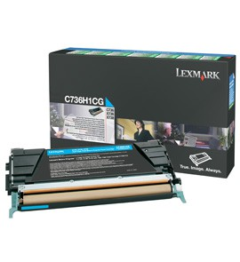 TONER CIANO C736, X736, X738, ALTA CAPACITA' RETURN PROGRAM - conf. 1