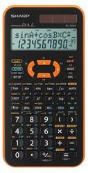 CALCOLATRICE SCIENTIFICA ARANCIO EL 506XB- SHARP - conf. 1