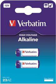 BLISTER 2 MICROPILE ALKALINE MIN21 12V VERBATIM - conf. 1