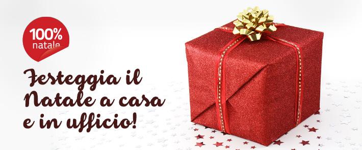 Festeggia il natale a casa e in ufficio con 100% Natale!