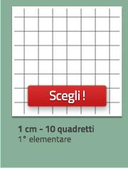 Quaderni a quadretti 10, da 1cm